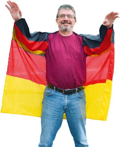 Deutschland Fan-Umhang