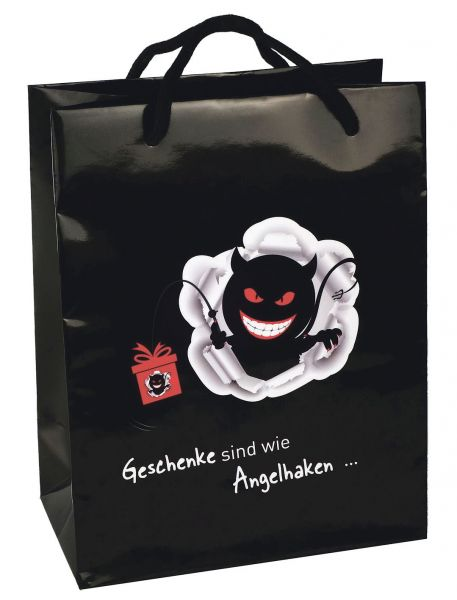 Schwarzer Humor Geschenktüte